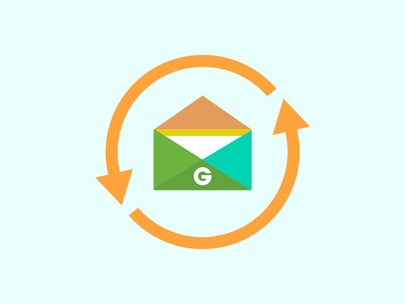 Groupon Automatic Email Vault illustration groupon automatic mail envelope