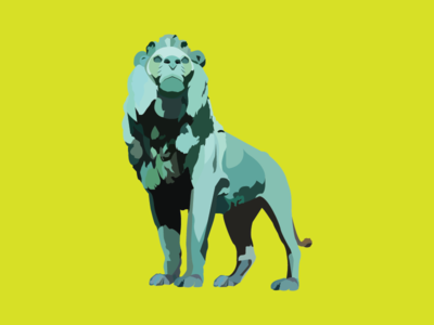 Art Guardian of Chicago sticker mule michigan ave art institute giveaway sculpture chicago kemeys art statue lion