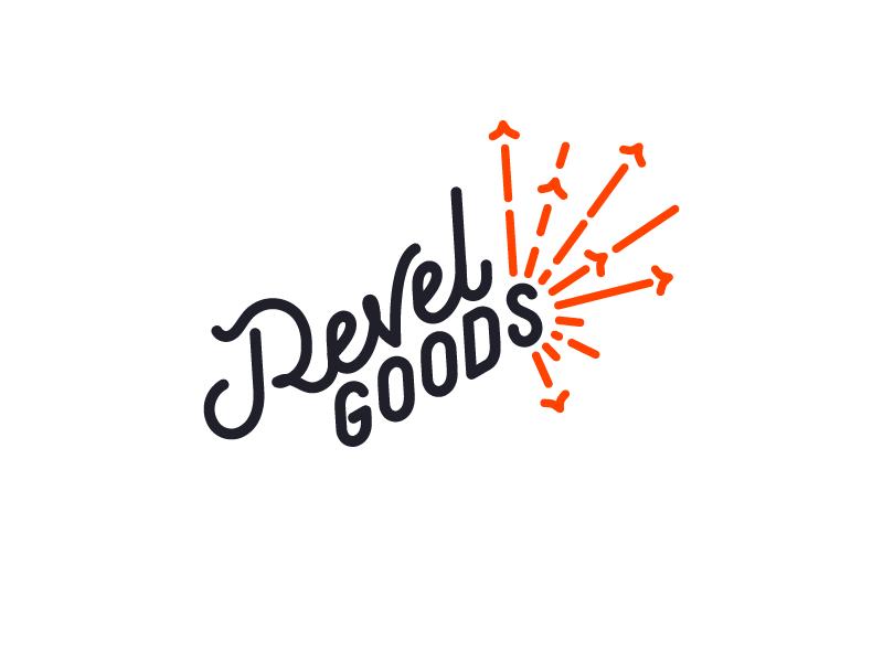 Revel Goods goods revel sparkler firework coming soon apparel branding logo