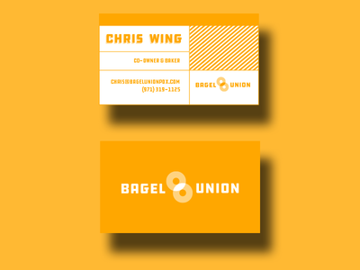 Bagel Union Branding