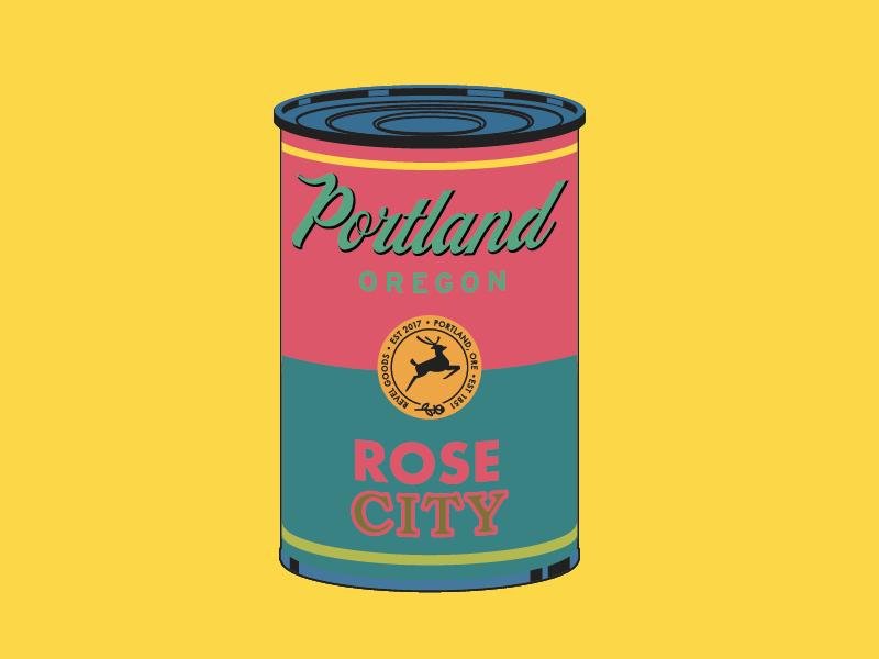 Portland Soup rose city soup warhol oregon portlandnw portland