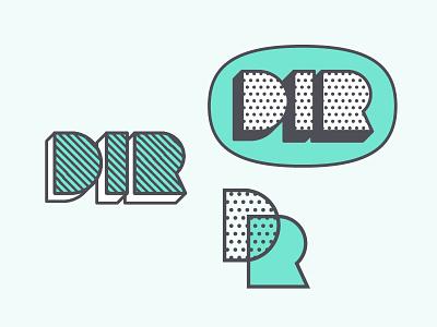 Design In Residency marks tech postmodernism 80s memphis green halftone stippling dots talk bubbles balloons nonprofit comics