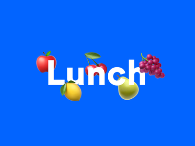 Failure to lunch wayfinding internet brutalism signage lunch fruit emoticon emoji