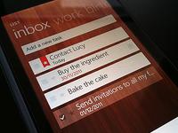 Wunderlist for Windows Phone 7