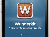 Wunderkit iPhone App - Splash Screen