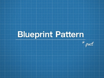 Blueprint Pattern *Freebie @2x hidpi blueprint pattern pat file freebie free download