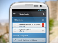 Wunderlist 2 for Android