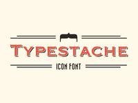 Typestache Icon Font – headline draft