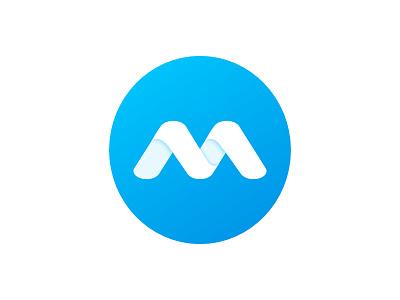 Millennium Logo m logo minimal strategy branding logo
