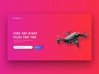 Dronelist Splashpage
