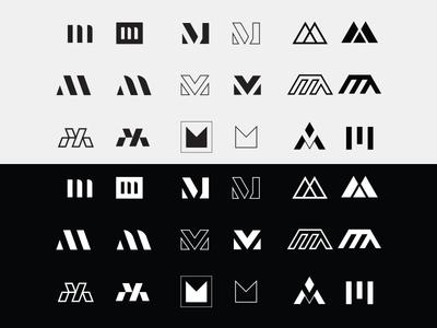 M logo Exploration