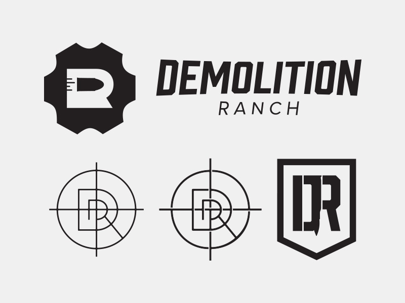 Demolition Ranch Logo By Josh Lowder On Dribbble