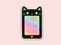 Leave Meow Alone