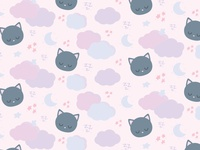 Sleepy Cat Pattern