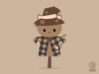 Scarecrow Cat