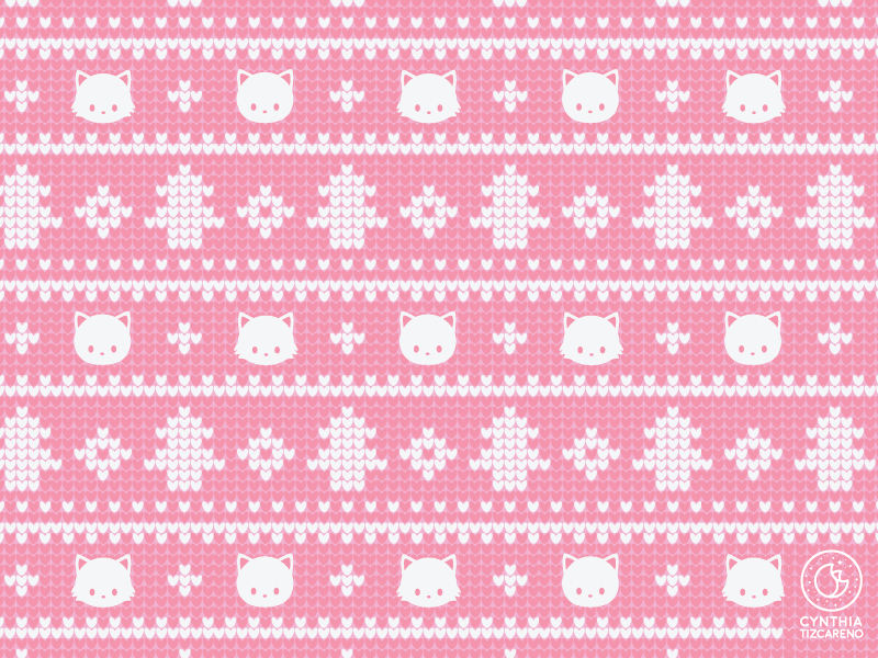 Christmas Sweater Pattern.Christmas Sweater Pattern By Cynthia Tizcareno On Dribbble