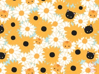 Flower Cat Pattern