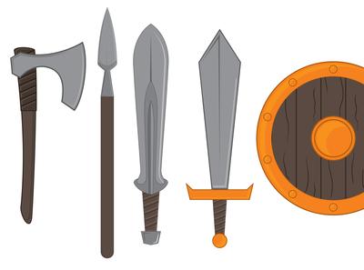 Weapon Illustrations