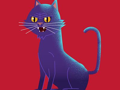Halloween Cat adobe photoshop illustrator animation illustration halloween
