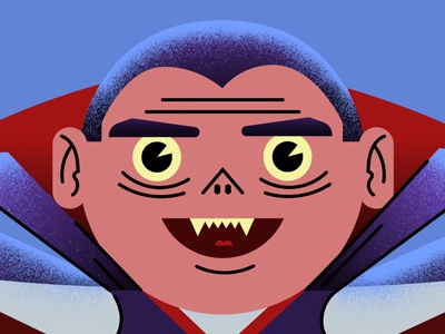 Happy Halloween Vamipre adobe photoshop illustrator animation illustration halloween