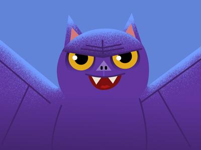 Happy Halloween Bat adobe photoshop illustrator animation illustration halloween