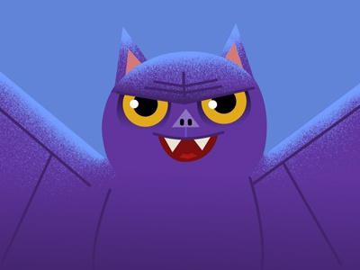 Happy Halloween Bat adobe photoshop illustrator animation illustration halloween