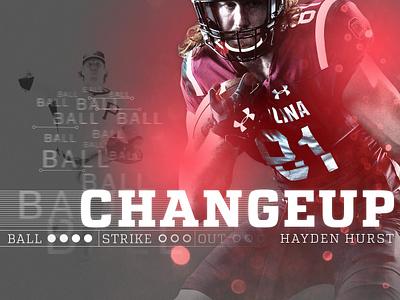 Changeup nfl photoshop sports graphics photo edit illustration editorial football baseball sports