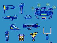 Football icons 2017