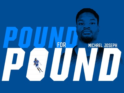 Pound For Pound nfl draft college football graphic design illustration longform editorial artwork football