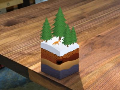 Alpine Biome Cube