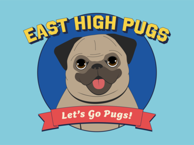 Pug Mascot dog mascot vector illustration illustration pugs pug