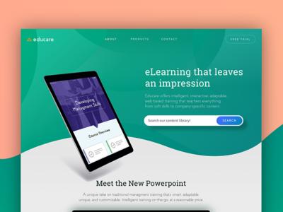 Daily UI #3: Landing Page