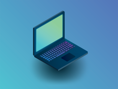 Isometric Laptop
