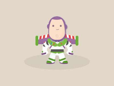 034: Buzz Lightyear illustration 100daysofillustration 100days