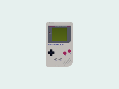 041: Gameboy illustration 100daysofillustration 100days