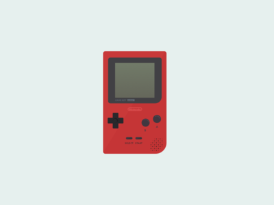 042: Gameboy Pocket illustration 100daysofillustration 100days