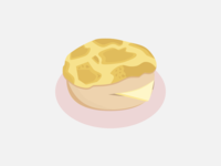 061: Pineapple Bun with Butter