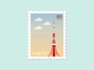 072: Tokyo Tower illustration 100daysofillustration 100days