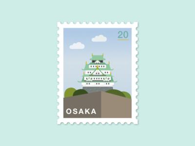 075: Osaka Castle