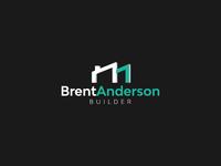 Brent Anderson Builder // Logo Design