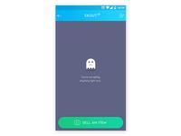 App screen - posting item for sale 1.1