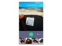 App screen - posting item for sale 1.3