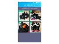 App screen - posting item for sale 1.5
