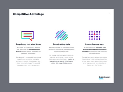 Organisation View Presentation Slide