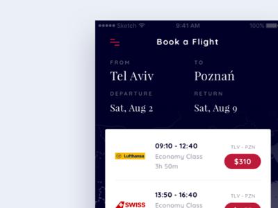 Flight offers
