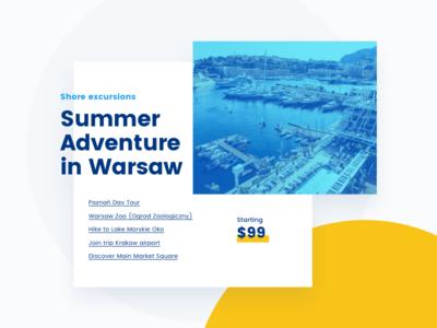 Adventure in Warsaw