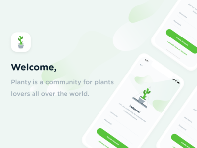 Planty - Community for plants lovers