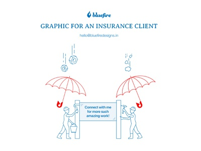 Graphic work for an insurance client illustration design flat storytelling creative minimal insurance graphic design graphics