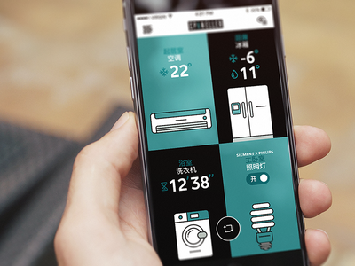 Cpaneller home smart home air conditioner fridge washing machine light bulb app