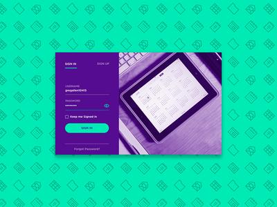 Project Management App - Login & Sign Up